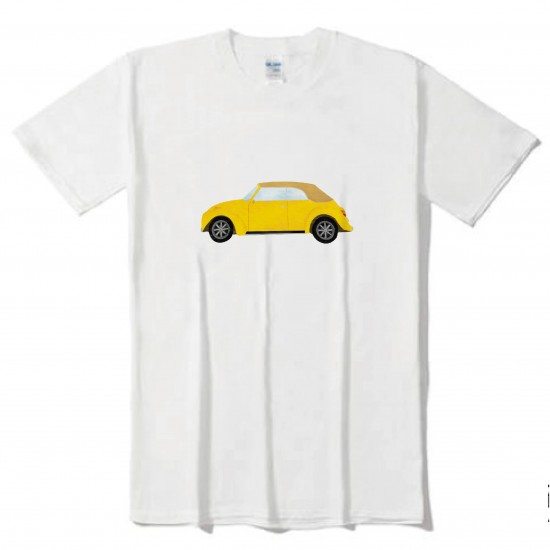 黃色車一台