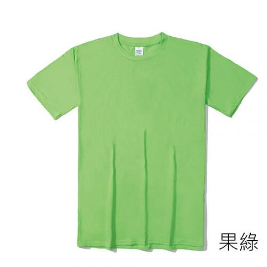 圓領短袖柔棉 36色