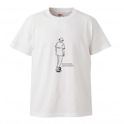 日牌 | 短袖印圖T | 滑板boy
