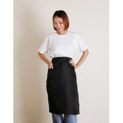 滌綸半身圍裙 單口袋 | 六色