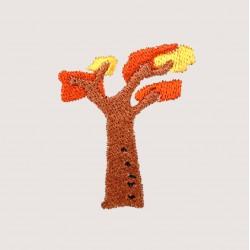 刺繡 植物系列