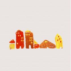 刺繡 城市們